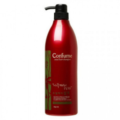 Шампунь для волос c касторовым маслом Welcos Confume Total Hair Shampoo 950мл: фото
