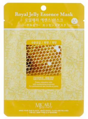Маска тканевая маточное молочко Mijin Royal Jelly Essence Mask 23гр: фото