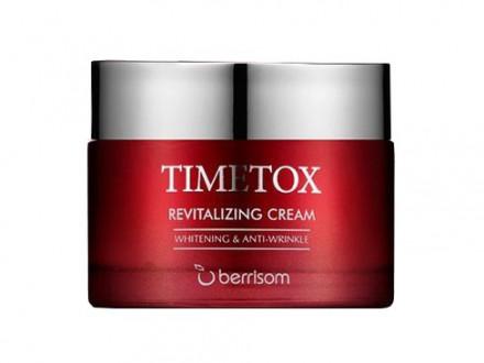 Крем для лица антивозрастной Berrisom TIMETOX REVITALIZING CREAM 50г: фото