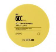 Кушон солнцезащитный THE SAEM Eco Earth Power Mild Sun Cushion 15г: фото