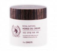 Крем с лошадиным жиром THE SAEM Royal Natural Horse Oil Cream 80мл: фото