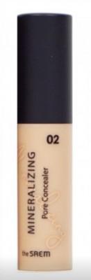 Консилер для маскировки пор Mineralizing Pore Concealer 02 Rich Beige 4ml The Saem
