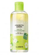 Вода очищающая увлажняющая с маслом зеленого чая THE SAEM Healing Tea Garden Green Tea Oil In Cleansing water 300мл: фото