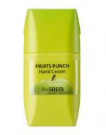 Крем для рук яблочный пунш THE SAEM Fruits Punch Apple Hand Cream 50мл: фото