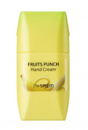 Крем для рук банановый пунш THE SAEM Fruits Punch Banana Hand Cream 50мл: фото