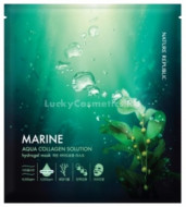 Маска гидрогелевая для лица NATURE REPUBLIC AQUA COLLAGEN SOLUTION MARINE HYDRO GEL MASK 25гр: фото