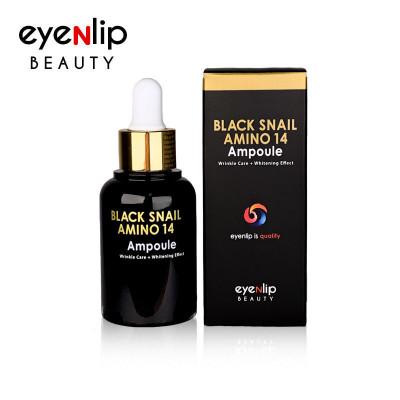 Сыворотка для лица ампульная с аминокислотами Eyenlip BLACK SNAIL AMINO 14 AMPOULE 30мл: фото