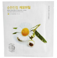 Маска для лица гидрогелевая NATURE REPUBLIC REAL NATURE CHAMOMILE HYDROGEL MASK 22г: фото