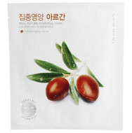 Маска для лица гидрогелевая NATURE REPUBLIC REAL NATURE ARGAN HYDROGEL MASK 22г: фото