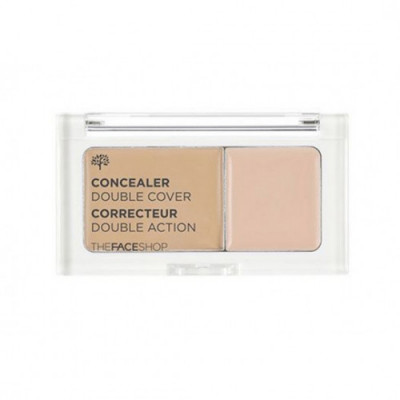 Консилер N.TFS.B Concealer Double Cover V201 The Face Shop
