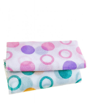 Мочалка для душа Sungbo Cleamy 28х95 Circle Shower Towel 1шт: фото