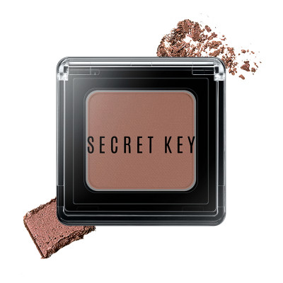 Тени для век моно SECRET KEY Fitting Forever Single Shadow #Girl (Light Pink) 3,8г