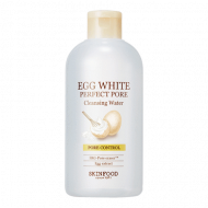 Очищающая вода SKINFOOD EGG WHITE PERFECT PORE CLEANSING WATER 300мл: фото