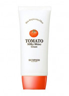 Крем для лица осветляющий с экстрактом томата SKINFOOD Tomato Milky Shine Cream 50мл: фото