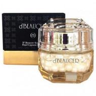 Крем для лица капсульный с экстрактом жемчуга d'BEAUCER Royal de Pearl Capsule Cream 50гр: фото