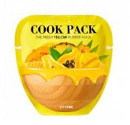 Маска для лица питательная ETTANG Cook Pack The Fresh Yellow Rubber Mask 40г+5г: фото