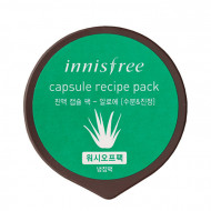 Маска капсульная с алоэ Innisfree Capsule Recipe Pack Aloe: фото