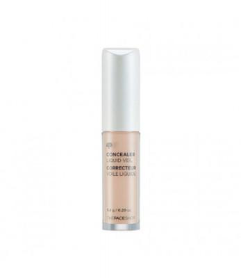Жидкий консилер The Face Shop Concealer Liquid Veil V107, 3.8 г