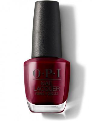 Лак для ногтей OPI CLASSIC NLL87 Malaga Wine 15 мл