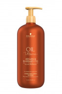Шампунь для жёстких волос Schwarzkopf Professional Oil Ultime Oil-in-Shampoo 1000мл: фото