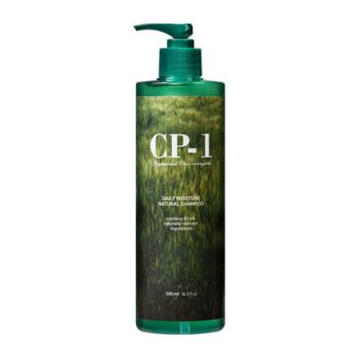 Шампунь натуральный увлажняющий ESTHETIC HOUSE CP-1 Daily Moisture Natural Shampoo, 500 мл: фото