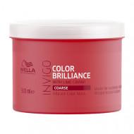 Маска-уход для защиты цвета окрашенных жестких волос Wella Professional Color Brilliance 500мл: фото
