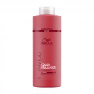 Шампунь для защиты цвета окрашенных жестких волос Wella Professional Color Brilliance 1000мл: фото