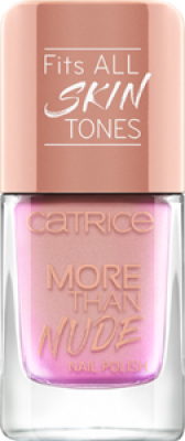 Лак для ногтей CATRICE More Than Nude Nail Polish 05 ROSEY-O & SPARKLET