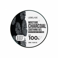 Гель увлажняющий с древесным углем LEBELAGE Moisture Charcoal Purity 100% Soothing Gel: фото