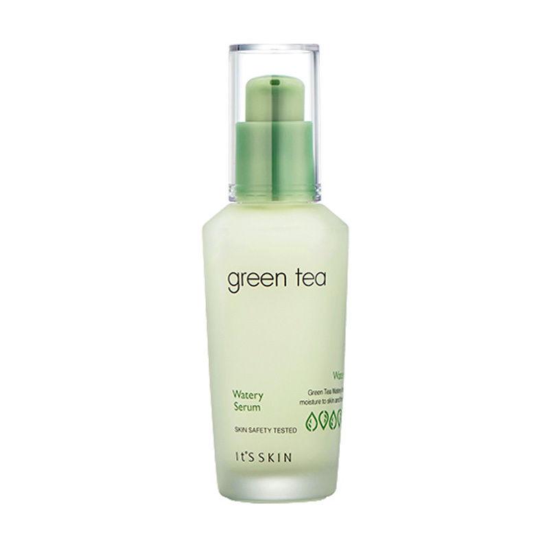 Сыворотка для лица с экстрактом зеленого чая IT'S SKIN Green Tea Watery Serum: фото