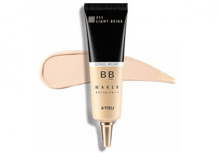 BB-крем стойкий A'PIEU BB Maker Long Wear SPF30/PA++ Natural Beige Натуральный Беж