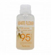 Очищающая вода с экстрактами белых цветов FarmStay Pure Natural Cleansing Water White Flower: фото