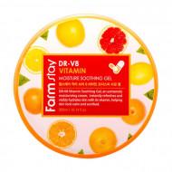 Многофункциональный витаминный гель FarmStay DR-V8 Vitamin Moisture Soothing Gel: фото