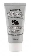 Маска для очищения пор A'PIEU Fresh Mate Peat Mask (Pore Clearing): фото