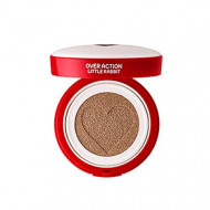Тональная основа THE SAEM Over Action Little Rabbit Love Me Cushion №23 Natural Beige 14г: фото