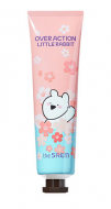 Крем для рук парфюмированый THE SAEM Over Action Little Rabbit Perfumed Hand Velvet Cream When cherry blossoms are abloom 30мл: фото