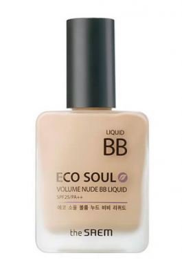 ВВ-Крем THE SAEM Eco Soul Volume Nude BB Liquid 01 Light Beige 25мл