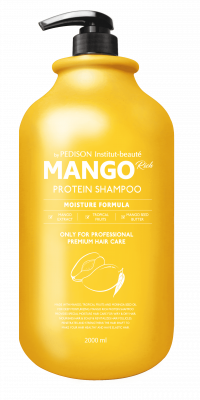 Шампунь для волос МАНГО EVAS Pedison Institute-Beaute Mango Rich Protein Hair Shampoo 2000 мл: фото