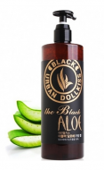 Гель для лица с алоэ Baviphat Urban Dollkiss The Black Aloe Soothing Gel 500мл: фото