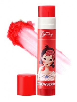 Бальзам для губ FASCY Lollipop STRAWBERRY Lip Balm 3,9г
