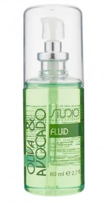 Флюид для секущихся кончиков волос Kapous Studio Professional Oliva & Avocado 80 мл: фото