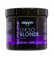 Mаска для обработанных, обесцвеченных и мелированных волос Dikson 500мл: фото