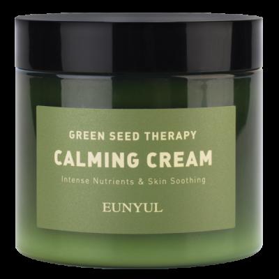 Крем-гель успокаивающий с экстрактами зеленых плодов EUNYUL GREEN SEED THERAPY CALMING CREAM, 270g: фото