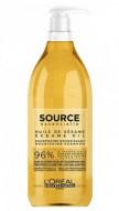 Шампунь питательный для сухих волос L'Oréal Professionnel Source Essentielle Nourishing Shampoo 1,5л: фото