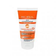 Солнцезащитный крем для лица и тела усиленная защита SPF50+ KORA 150мл: фото