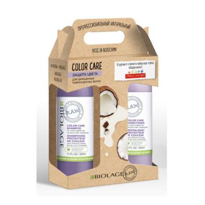 Набор защита цвета MATRIX Biolage R.A.W. Color Care: Шампунь 325 мл + Кондиционер 325 мл: фото