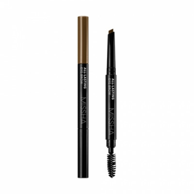 Карандаш для бровей MISSHA All-lasting Eye Brow Natural Brown: фото