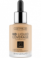 Тональная основа CATRICE HD Liquid Coverage Foundation 036 Hazelnut Beige