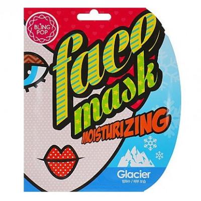 Маска для лица тканевая питательная BLING POP GLACIER MOISTURIZING MASK 25мл: фото