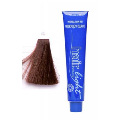 Крем-краска для волос Hair Company HAIR LIGHT CREMA COLORANTE 4 каштановый 100мл: фото